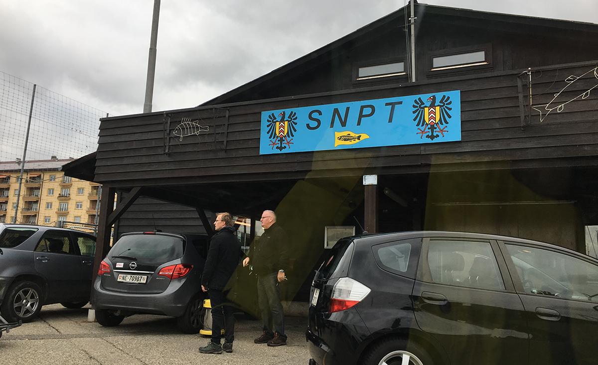 SNPT ヌーシャテル唯一の伝統あるフィッシングクラブ。