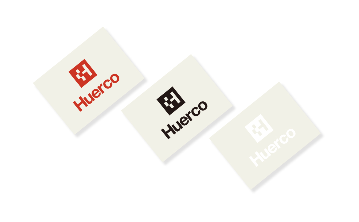 Huerco Cutting Sticker – Square Logo