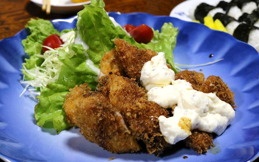 民宿「光藤」の魅力的な夕食