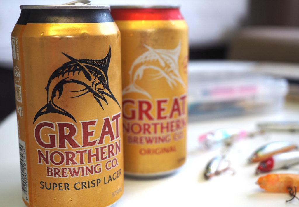 オーストラリアのビールは高め。ロゴがかっこいい
