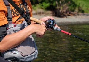 友人が釣った魚を撮らせて貰うことも