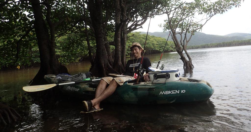 大規模河川の場合ボートやカヤックがおすすめ