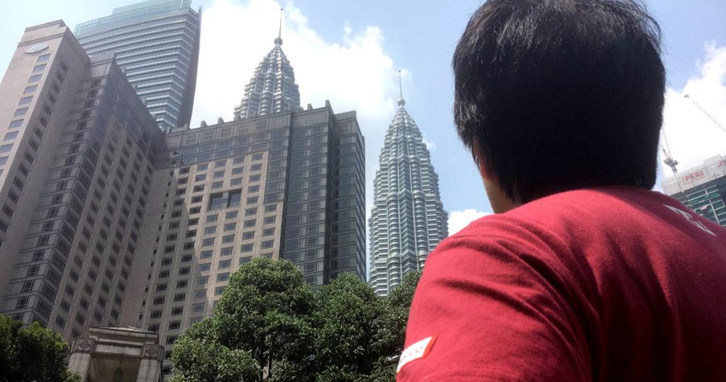 観光のシンボルKLツインタワー