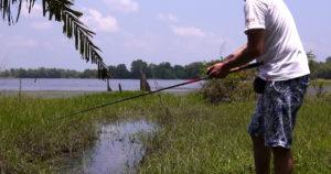 こんなところで釣ってみた。