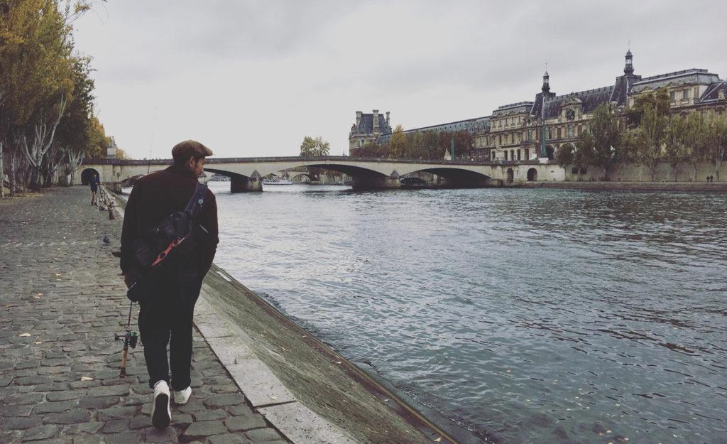 """""""がてら""""の釣りを楽しむ ~Paris編~"""