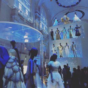 滞在していた期間には『Christian Dior, couturier du rêve』開催中だった。個人的に唯一訪れたかった場所。