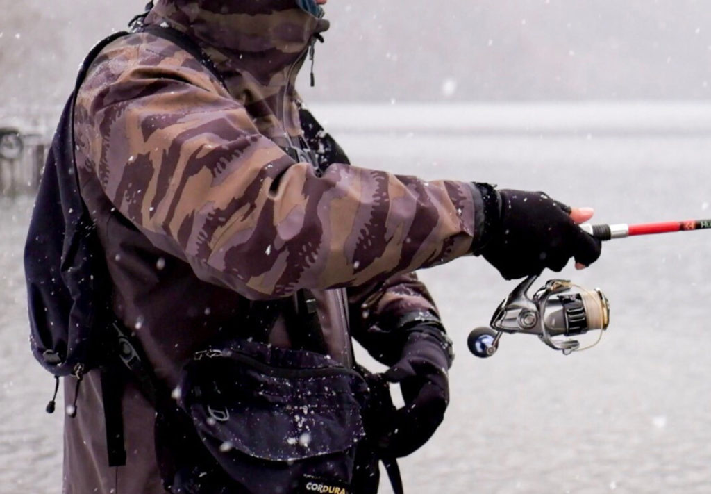 HuercoXT711-5Sを使い、スプーンの釣りをメインに。