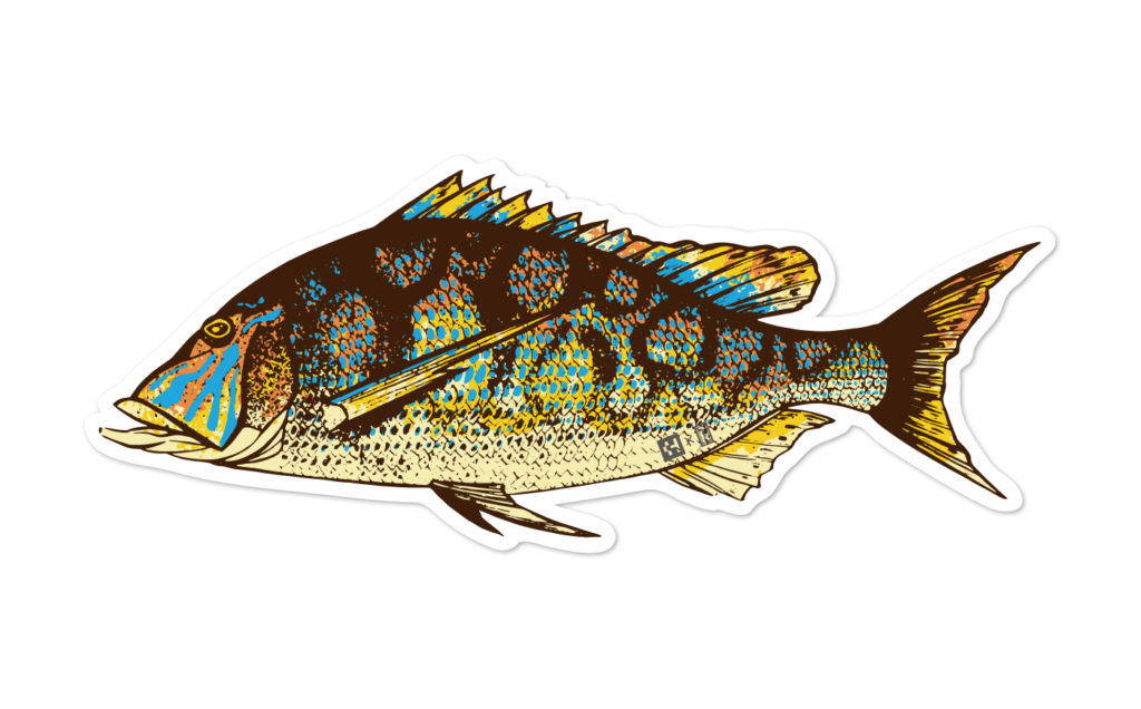 Fish Sticker タマン