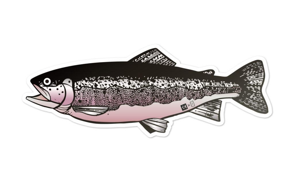 Fish Sticker レインボートラウト