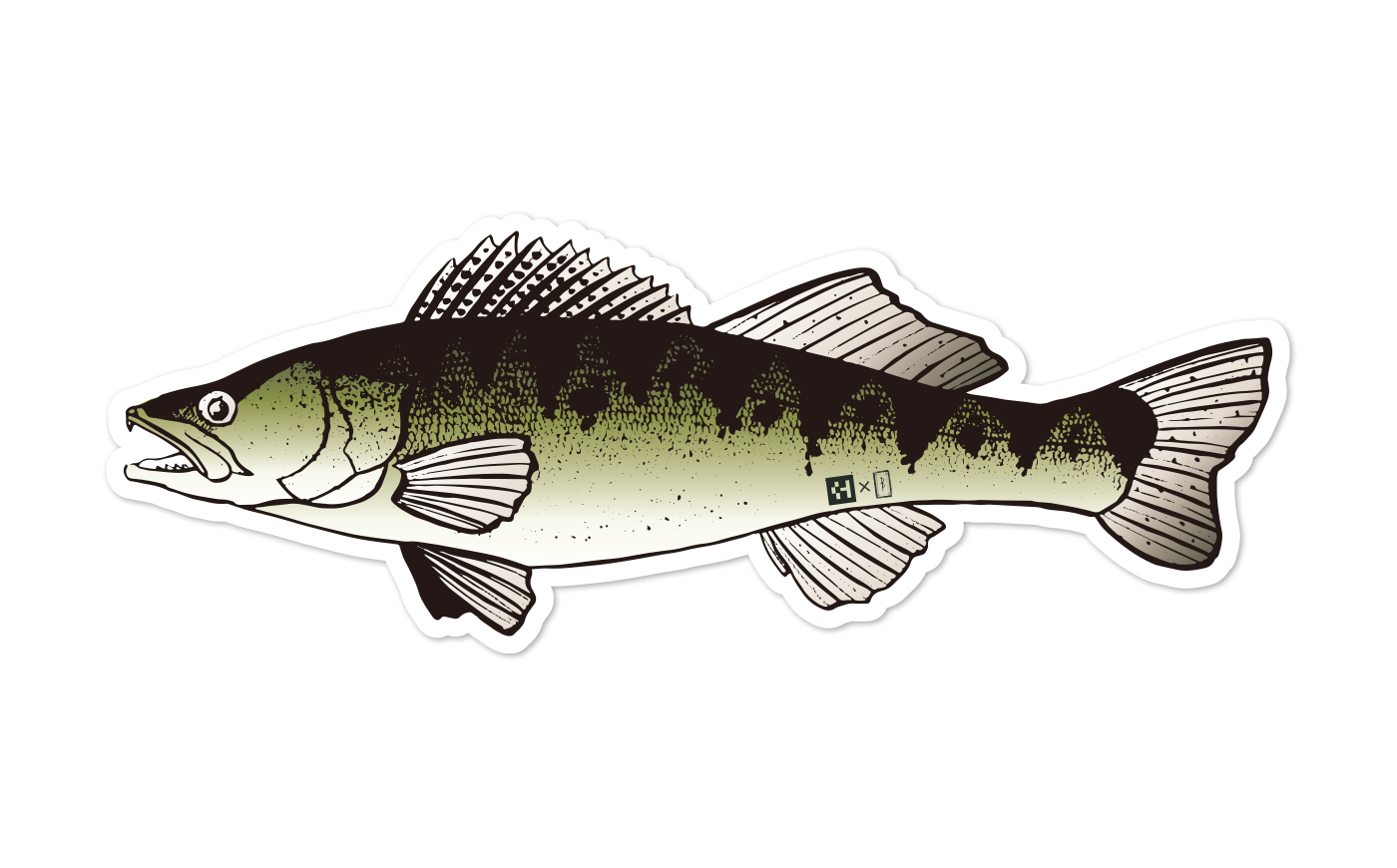 Fish Sticker ザンダー