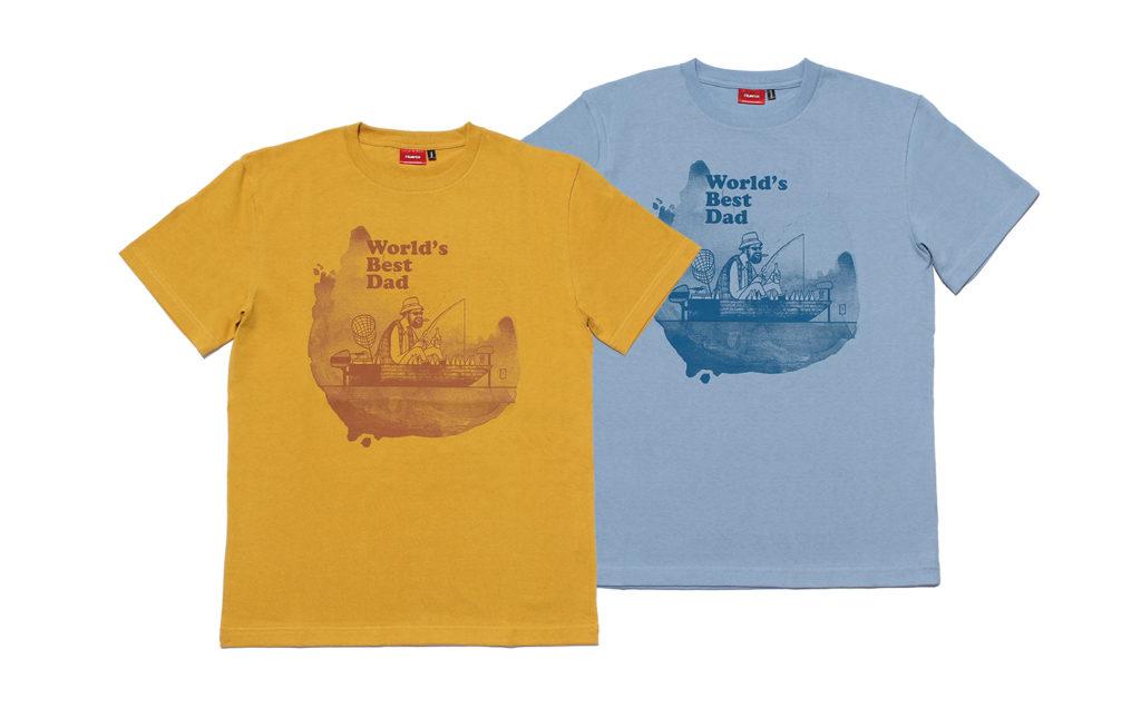 ワールド・ベスト・ダッドTシャツ