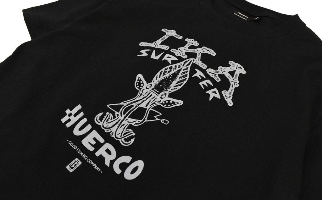 Huerco イカサーファーTシャツ Gallery 02