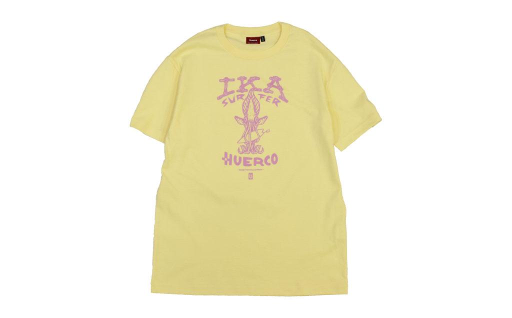 Huerco イカサーファーTシャツ Gallery 05