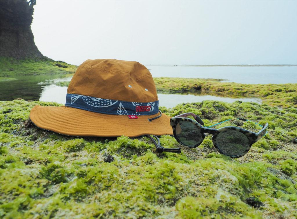 帽子とサングラスも必須です | 延べ竿で楽しむ海の「超小物」狙い