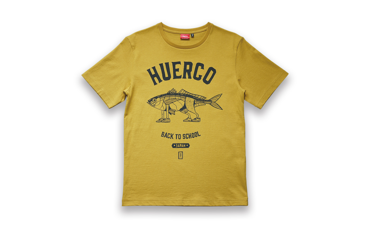Huerco AJI Walker Tshirt アジウォーカーTシャツ